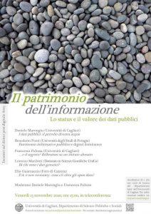 convegno il patrimonio dell'informazione